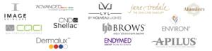 Pauline Cawley Beauty Clinic Product Logos
