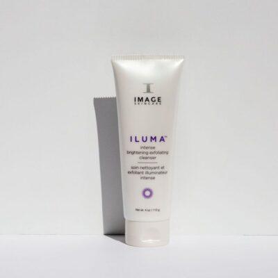 Iluma intense brightening exfoliating cleanser Pauline Cawley