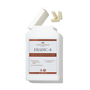 Marie Reynolds Eradic-8 Supplements at Pauline Cawley Front